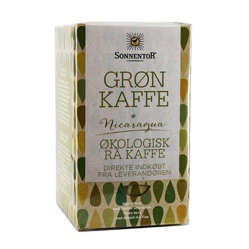 Image of   Grøn kaffe Sonnentor Økologisk - 18 breve