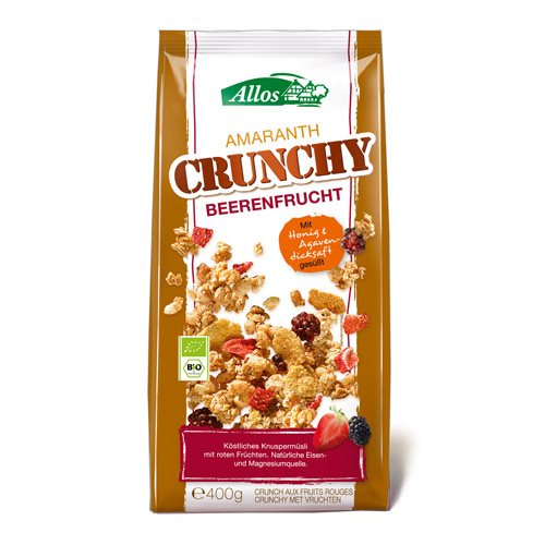 Image of   Amaranth Crunchy Mysli Red fruit Wild berry Ø 400g