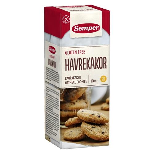 Havrekager glutenfri fra Semper - 150 gram