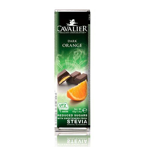 Image of   Cavalier Chokoladebar m. appelsin u. tilsat sukker (40 g)