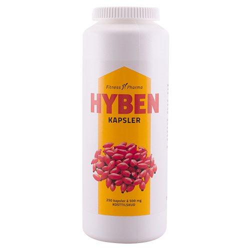 Billede af Fitness Pharma Hyben kapsler (250 kap)
