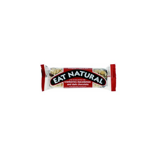 Eat Natural Macadamia choko & tranebær - 45 Gram