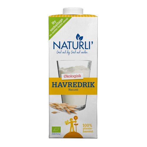 Image of Havredrik Naturli Økologisk - 1 liter