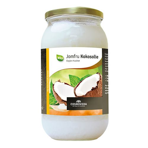 Jomfru kokosolie Cosmoveda Økologisk - 1 liter