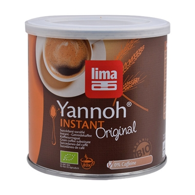 Yannoh instant kaffeerstatning Lima Øko - 125 gram