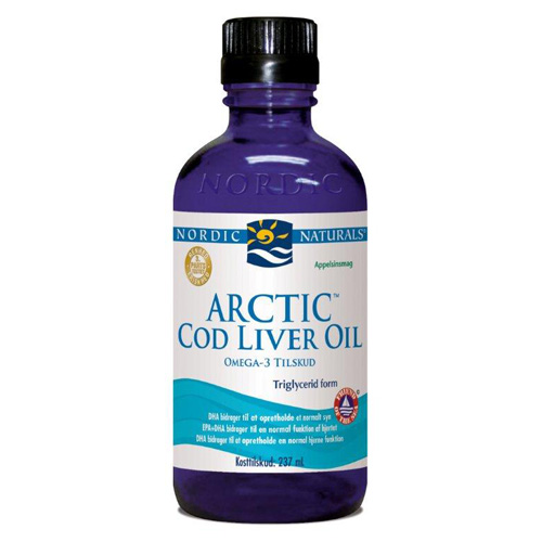 Image of   Arctic Cod liver oil Appelsinsmag - 237 ml.