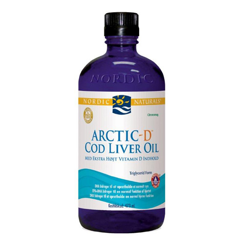 Image of   Torskelevertran Citrus + D Cod Liver Oil - 474 ml