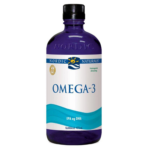 Image of   Omega 3 flydende med citrussmag - 474 ml.