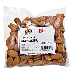 Mandler økologiske spanske fra Rømer - 200 gram