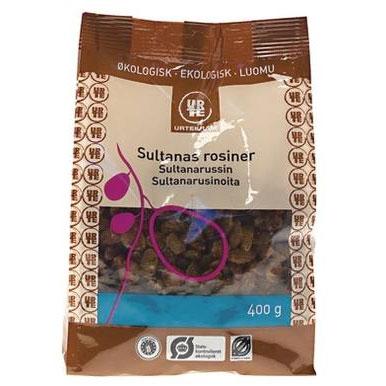 Rosiner Lyse Sultana Økologiske - 400 gram