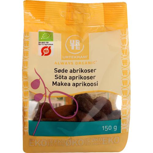 Image of   Abrikoser søde Økologiske Urtekram - 150 gram