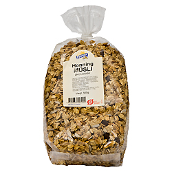 Image of   Mysli med honning Økologisk - 500 gram