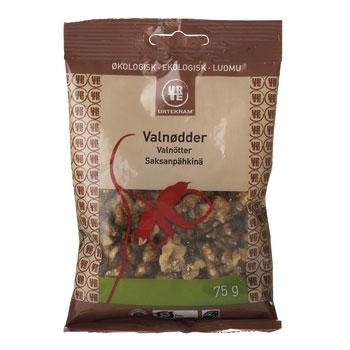 Valnøddekerner Økologiske - 75 gram