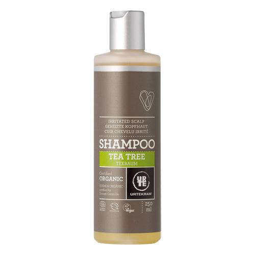 Tea Tree Shampo til irriteret hovedbund - 250 ml.