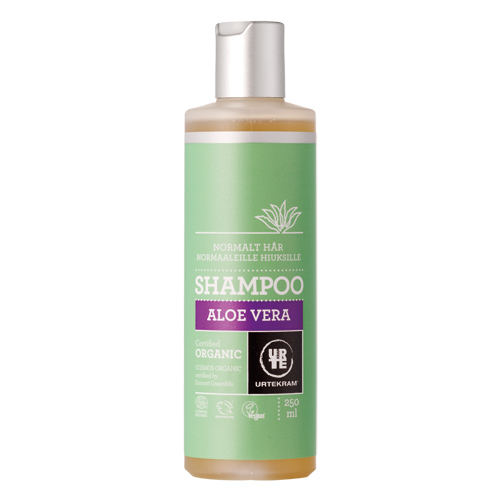Shampoo normalt hår Aloe Vera - 250 ml.