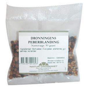 Image of   Dronningens Peberblanding Natur Drogeriet - 50 gr