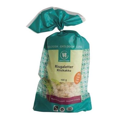 Risgaletter med salt Økologisk - 100 Gram