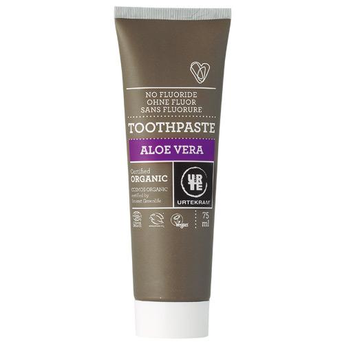 Image of   Urtekram Aloe Vera tandpasta uden fluor - 75 ml.