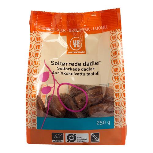 Dadler Økologiske uden sten - 250 gram