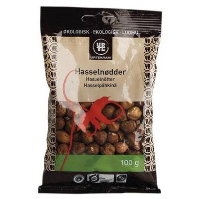 Hasselnødder Økologiske - 100 gram