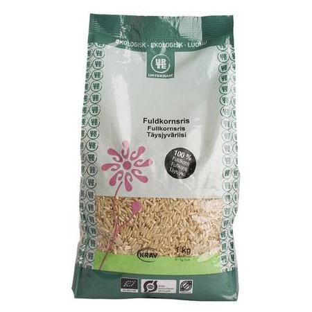 Image of Fuldkornsris økologiske - 1 kilo