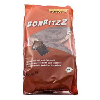 Risgaletter med mørk choko Økologiske - 100 gram