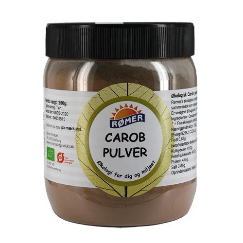 Carob pulver Økologisk fra Rømer - 250 gram