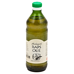 Image of Rapsolie koldpresset økologisk - 500 ml