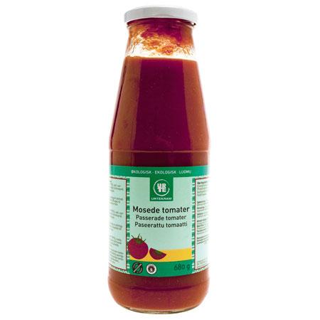 Image of   Tomater mosede fra Urtekram Øko - 680 gram