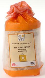 Majsgaletter fra Urtekram Økologiske - 100 gram