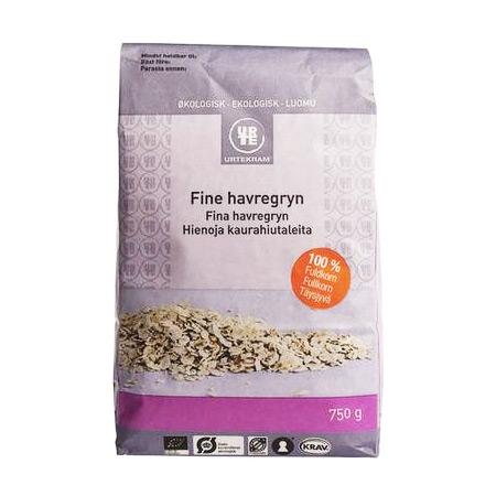 Image of   Havregryn fine Økologiske - 750 gram