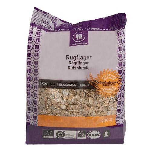 Rugflager Økologiske - 400 gram