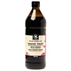 Tamari Genuine Glutenfri Økologisk - 750 ml.