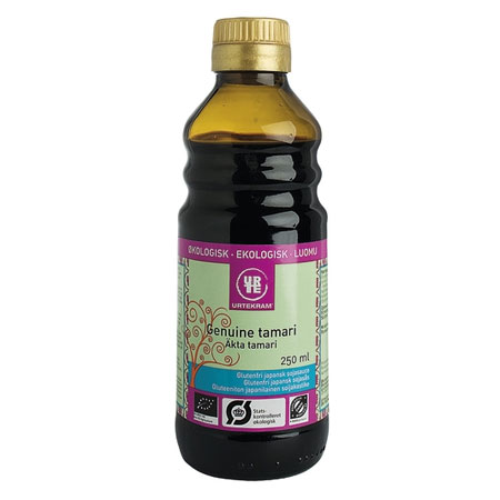 Tamari Genuine Glutenfri Økologisk - 250 ml.