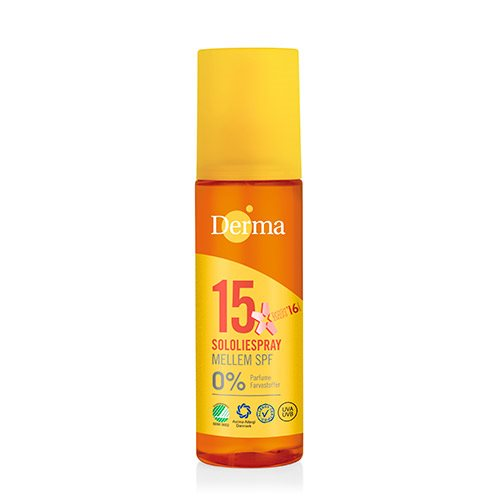 Image of   Derma sololie spray SPF 15