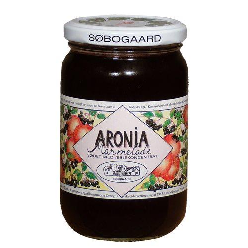 Image of Aronia-marmelade med æble fra Søbogaard Ø - 390 gr