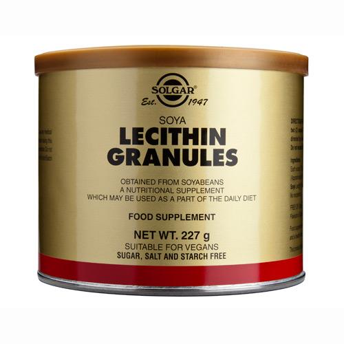 Lecitin 95 Granulat fra Solgar - 227 gram
