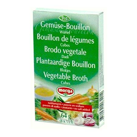 Image of Morga bouillontern uden salt Glutenfri - 8x8 gram