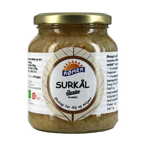 Image of   Surkål i glas Økologisk fra Rømer - 340 gram