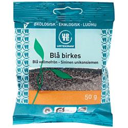 Image of Blå birkes fra Urtekram Økologiske - 50 gram