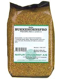 Image of   Bukkehornsfrø hele fra Natur Drogeriet - 200 gram