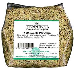 Image of   Fennikel hel Natur Drogeriet - 100 gram