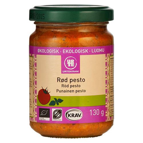 Image of Pesto rød økologisk fra Urtekram - 130 gram