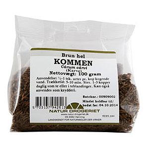 Image of   Kommen hel fra Natur Drogeriet - 100 gram