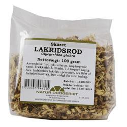 Image of   Lakridsrod skåret - 100 gram