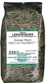Image of   Lemongræs fra Natur Drogeriet - 100 gram