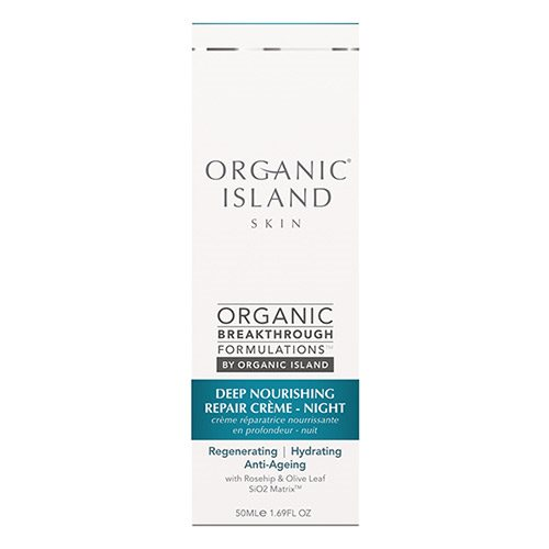 Image of Organic Island Night cream repair deep nourishing