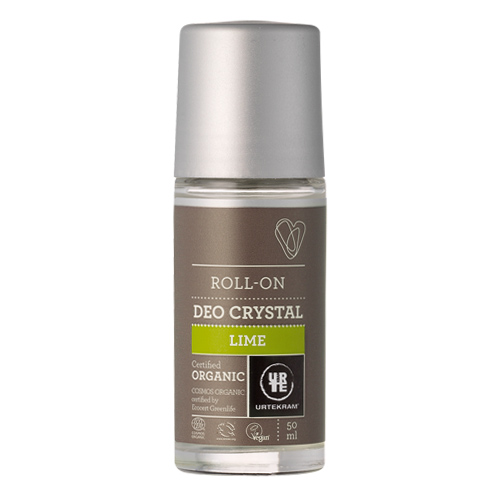 Urtekram Deo Crystal Lime 50 ml.