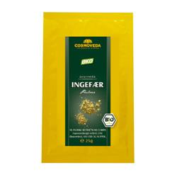 Image of   Ingefær pulver Økologisk fra Cosmoveda - 25 gram