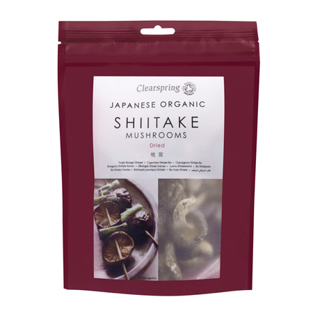Shitake svampe fra Clearspring - 40 gram